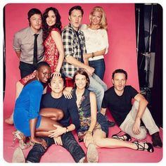The Walking Dead Season 3 Cast. The governor is kind of hot when he's not being a sociopath.