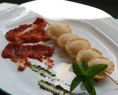 Sabor en cristal: Raviolis fritos, con salsa alla Marinara