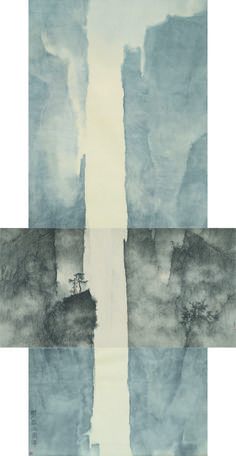 Li Huayi, 'Mountain and details of the Mountain,' 2010, Beijing Center for the Arts