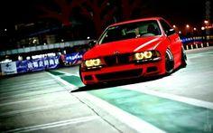 BMW E39 M5 red