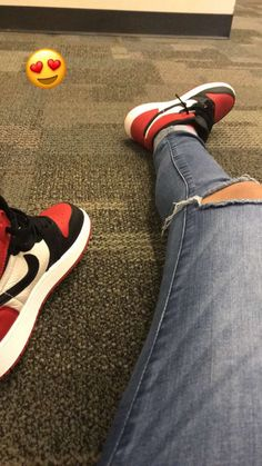 Bred toe nike air jordans, school projects, me too shoes, goal, sneaker Sneakers Fashion, Shoes Sneakers, Hype Shoes, Fresh Shoes, Sneaker Heels, Nike Outfits, Trendy Shoes, Sock Shoes, Jordan Shoes