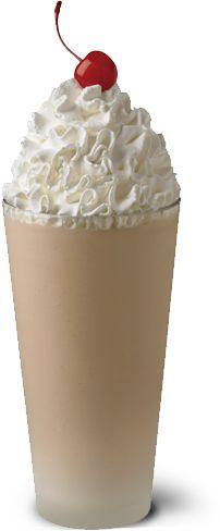 Chocolate Malt Milkshakes - Made with hand scooped chocolate ice cream