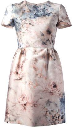Valentino Pink Floral Dress