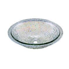JSG Oceana 007-307-300 Pebble Undermount/Drop-In Combination Sink, Crystal Reflections