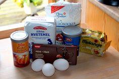 Oldemor Harriets saftige chokoladekremkake – josefinesmatgleder Fika, Food And Drink, Cookies, Baking, Drinks, Breakfast, Crack Crackers, Drinking, Morning Coffee