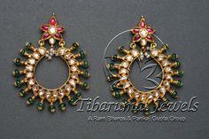 Kundan Jhumka | Tibarumal Jewels | Jewellers of Gems, Pearls, Diamonds, and Precious Stones