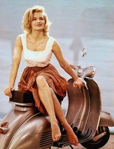 "Angie Dickinson en ""Jessica"", 1962"
