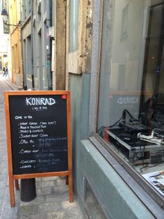 Konrad Café  Bar: My favourite place to drink coffee in Luxembourg.