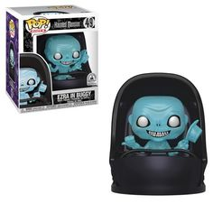This Funko Pop! Beware of hitchhiking ghosts or Funko's Ezra in Doombuggy Pop! Inspired by Disney's classic The Haunted Mansion attraction. Part of the Disney Parks Pop! Created especially for Walt Disney World Resort and Disneyland Resort. Disney Pop, Disney Rides, Disney Parks, Disney Theme, Walt Disney, Ac Dc, Dragon Ball Z, Haunted Mansion Ride, Otaku