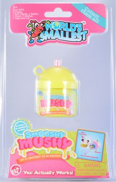 Unwrap an amazing experience with World's Smallest Smooshy Mushy Pets. Each item comes wrapped in a sippy milk container. Inside discover an adorable squishy pet, a flat bestie keychain, and a sticker. Collect all six! Toddler Toys, Kids Toys, Barbie Kitchen Set, Toy Shack, Cool Fidget Toys, Cool Keychains, Mini Things, Small Things, Barbie Toys