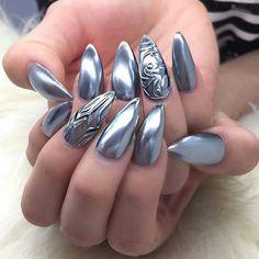 Chrome nails                                                       …