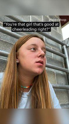Funny Vidos, Why People, Cheerleading, Lol, Hair Styles, Beauty, Hair Plait Styles, Hair Makeup, Hairdos
