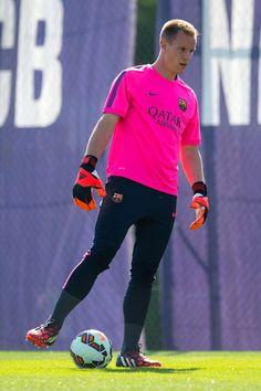 Marc-Andre Ter Stegen of FC Barcelona and GK for German National Team