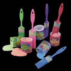 Lollipop Paint Shop. As random as paintbrush shaped candy is, these were fantastic alternatives to a Fun Dip, perhaps with better tasting sticks.