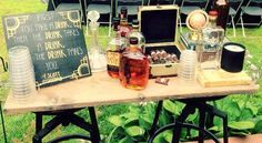 Great Gatsby party whiskey and cigar bar