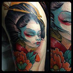 Instagram photo. tattoo by @logan barracuda tattoo