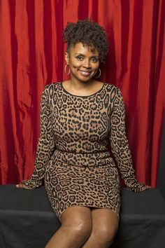 Debbi Morgan of All My Children  (Photo Courtesy of Victoria Will / TV Guide Magazine)