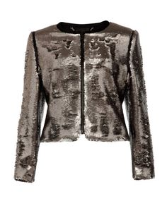 Sequin jacket - Silver | Jackets  Coats | Ted Baker