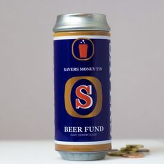 For those that need a little help making sure they ve got the cash they need our Beer Fund Savers Money Tin will always go down well Designed to look
