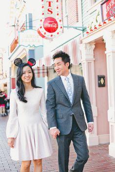 Where dreams come true ~ Disneyland ~ Engagement Shoot by one love photography | www.brautsalat.de
