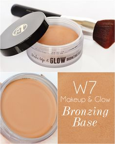 W7 Bronzing Base or Chanel Soleil Tan De Chanel Bronzing Makeup Base Dupe…