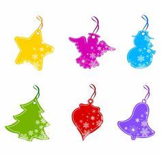 ICON / Free vector Vector icon Christmas Price Tag