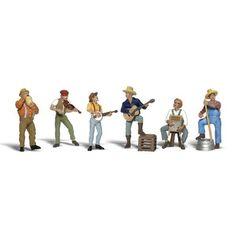 HO Scale: Jug Band