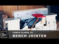 Cristiana Felgueiras' Jointer Made from a Planer - on ibuildit.ca