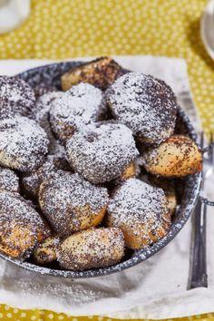 Bobajka, az eredeti mákos guba | Street Kitchen Poppy Cake, Hungarian Recipes, Guam, Fudge, Food To Make, Muffins, Sweet Treats, Food And Drink, Favorite Recipes