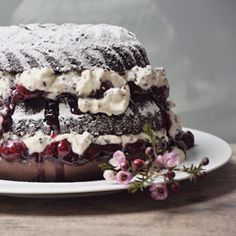 Black Forest Bundt Cake