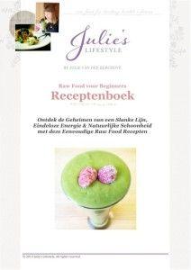 Rauwe Recepten-eBook voor Beginners