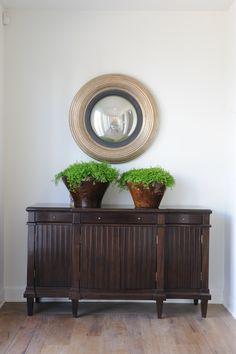 Shopper's Diary: Rose Tarlow Melrose House in LA: Remodelista. Contemporary Furniture, Cool Furniture, Furniture Design, Vintage Furniture, Melrose House, Sideboard Decor, Rose Tarlow, Dark Wood Cabinets, Interior Design Portfolios