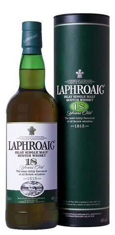 Laphroaig 18 years .... Smooth