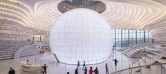 Η πιο εντυπωσιακή βιβλιοθήκη του κόσμου μόλις άνοιξε στην Κίνα και θα σας μαγέψει [εικόνες και βίντεο]