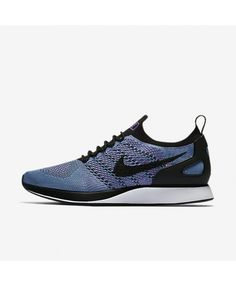 5d3bab2680f4 Nike Air Zoom Mariah Flyknit Racer Bright Violet Chlorine Blue White Black  918264-500 Mens