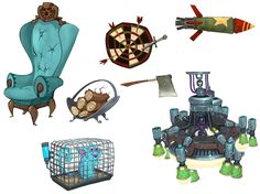 Common Props - Characters & Art - WildStar