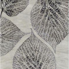 Surya Banshee-3348 Vintage Rug, Slate/Charcoal/Beige