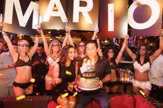 Radar Online | Mario Lopez And Courtney Mazza Lopez Celebrated Their Respective Birthdays At Andrea's Restaurant And XS Nightclub In Encore At Wynn Las Vegas