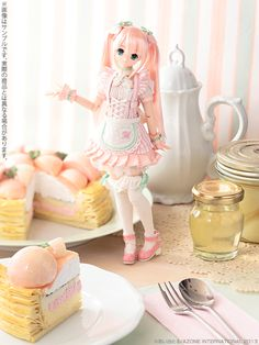 Sweets a la mode Peach Pie Azone International, 2013.