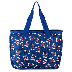 Product Image of Mickey Mouse Tote Bag for Adults # 1 Large Canvas Tote Bags, Big Tote Bags, Nylon Tote Bags, Large Tote, Mickey Mouse Images, Disney Mickey Mouse, Shopper Tote, Satchel Purse, Disney Tote Bags