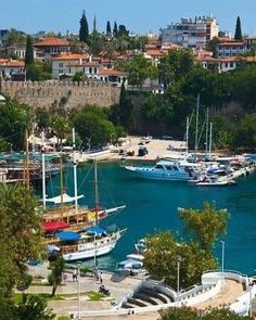 Picture of Old harbour in Antalya, Turkey - travel background stock photo, images and stock photography. Turkey Destinations, Travel Destinations, Cool Places To Visit, Places To Travel, Places Around The World, Around The Worlds, Istanbul, Turkey Places, Capadocia