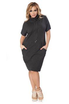 Sukienka Irmina Size Plus - Tessita