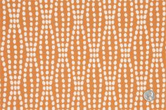 possibility for entry bench --- Mood Fabrics : New York Fashion Designer Discount Fabric | HC21610 Tiger Lily Polka Dots Woven