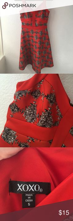 Spotted while shopping on Poshmark: Red Dress! #poshmark #fashion #shopping #style #XOXO #Dresses & Skirts