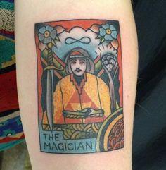 The Magician #tattoo #tarot  #inspiration