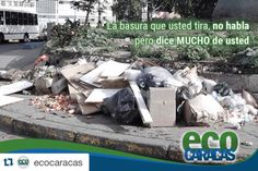 #Repost @ecocaracas with @repostapp.  No ensucies tu ciudad...