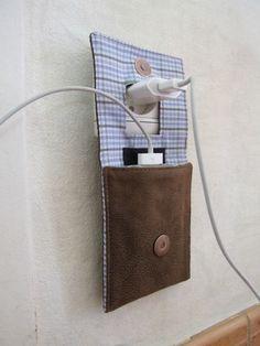 pochette chargeur de portable - modif des dimensions