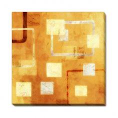 Magazin online de tablouri si postere de arta, tablouri canvas decoratiuni pictura moderna abstract picturi religioase reproduceri de arta fotografii - ABSTRACT - Orange Connected Forms II