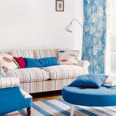 stripe-fabrics-furniture-upholstery-curtains-blue-red