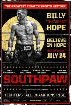 Return to the main poster page for Southpaw